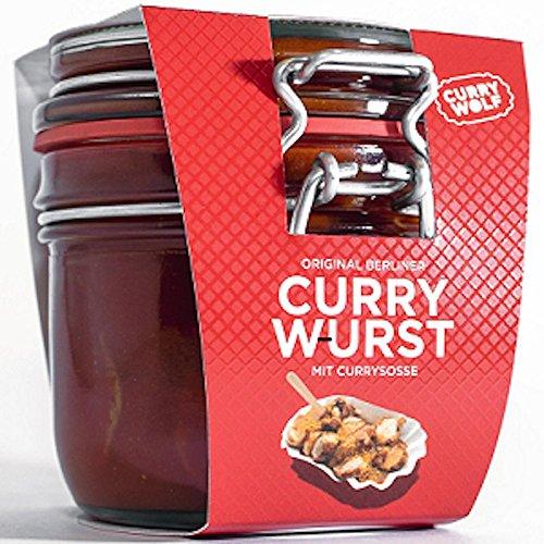 Curry Wolf Berliner Currywurst im Glas Familienpackung (8x220g)
