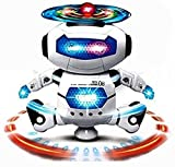 #7: Webby Dancing Robot with 3D Lights and Music, Multi Color
