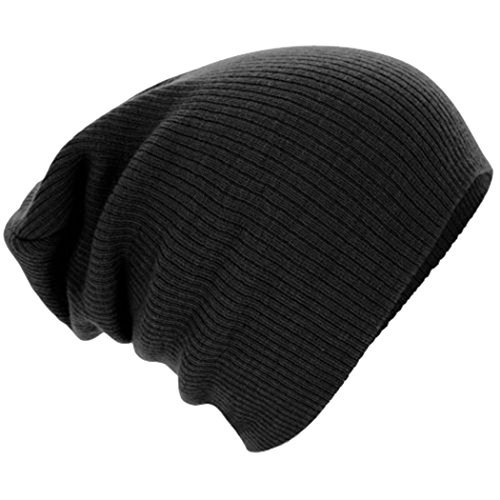 7a20dcc0b05 American Trends Unisex Trendy Warm Soft Knit Beanie Slouch Cotton Cap Thick  Winter Hat for Boys