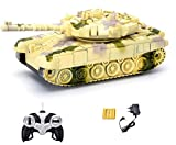 #6: Webby Remote Controlled Tank with Music and Lights, Colour May Vary