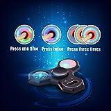 LEEHUR Fidget Spinner 4in1 mit Uhr, Kompass, LED, versch. Farben - 6