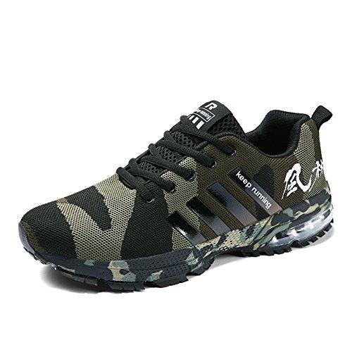 TUOKING Camouflage, Zapatillas de Deporte Unisex Adulto