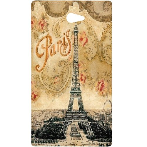 Casotec Vintage Paris Tower Design Hard Back Case Cover for Sony Xperia M2  available at amazon for Rs.379