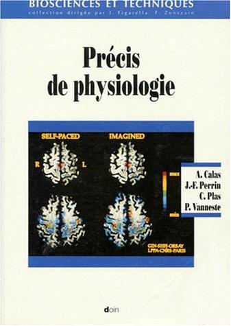 Précis de physiologie