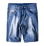 Heheja Herren Jeans Shorts Übergröße Freizeit Denim Kurze Hose als Bild 5XL