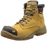 Cat - Spiro S3, Zapatos de Seguridad Hombre, Marrón (Honey), 43 EU