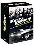 Locandina Coffret fast and furious 5 films : fast and furious 5 à 8 ; hobbs and shaw