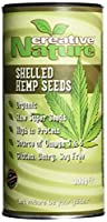 Creative Nature Canadian Shelled Hemp Seed 300 g (Pack of 2)