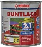 Wilckens 2in1 Buntlack glänzend, RAL 9005 tiefschwarz, 375 ml 10490500030