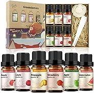 GREENSLEEVES Essential Oil Set, Pure Fragrance Oil Gift Kit