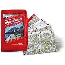Motorrad-Atlas Alpenländer 1 : 275 000 (Hallwag Führer und Atlanten)