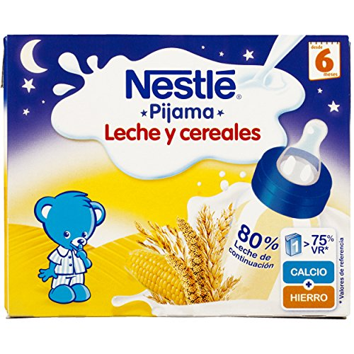 Nestlé Leche Cereales Pijama Alimento Para bebés