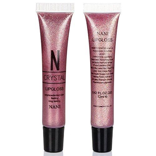 nani-petite-sexy-nude-couleur-hydratant-lip-gloss-diamant-brillant-liquid-lip-gloss-violet