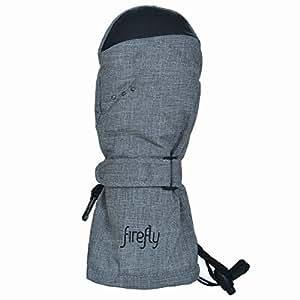 Firefly rosella gants gants moufles pour enfant fille-gris foncé-taille 4