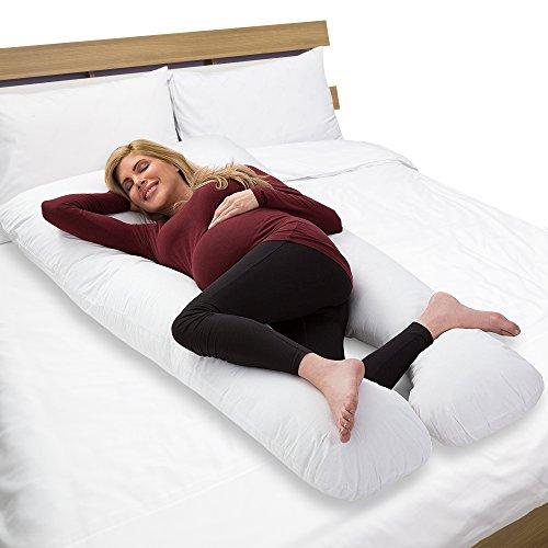 Almohada de Cuerpo Completo con Forma de U Grande