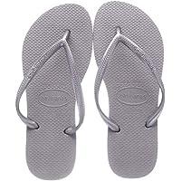 Havaianas Slim, Women's Slippers, Grey (Steel Grey), 37/38 EU