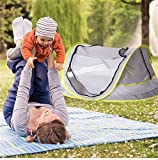 CAMPERS Pop Up Baby Reisebett Portable Infant Moskitonetz Sun Shelter UV-Schutz 50+ Zelt Falten Krippe für Strand Camping Zuhause Reise Trekking