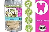 ZWERGNASE Bio-Kräuter Zahn-Verzauberer Pflegesnack für Zähne/Mundhygiene Kokos Pur 200g (5 x 200 g)