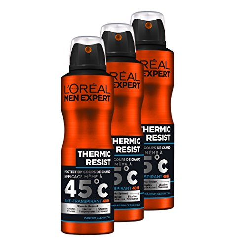 L'Oréal Men Expert Thermic Resist Déodorant Spray Homme...