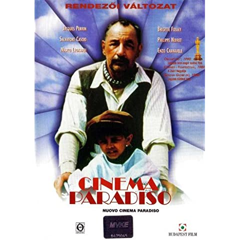 Cinema Paradiso: la nueva versión del cartel de película B 11 x 17 - 28 cm x 44 cm en Antonella Attili Enzo Cannavale Isa Danieli Leo Gullotta Marco Leonardi Pupella Maggio
