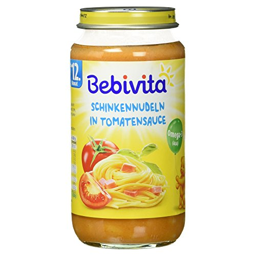 Bebivita Schinkennudeln in Tomatensauce, 250 g