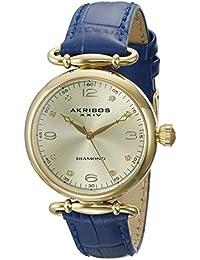 Akribos XXIV Reloj con movimiento japonés Ak878Bu Azul