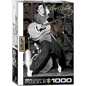 "Eurographics ""Elvis Collage Puzzle (1000 Piezas"