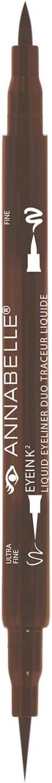 (Brown) - Annabelle EyeInk2 Liquid Eyeliner Duo, Brown, 0ml