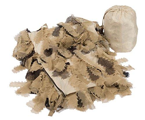 Mil-Tec Ghillie Cover 200x200 cm Tarndecke Oak Leaf (Desert) -