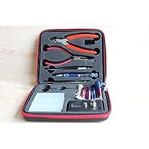 Kit elettronica per sigarette, bobina DIY, ohm Meter, pinze diagonali, Forbici, cacciavite, ceramica / gomito Tweezers