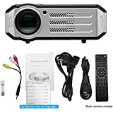 Toshani T-07 Full HD Projector 3200 Lumens Led Portable Projector With HDMI / AV / VGA / USB / TV(Black)