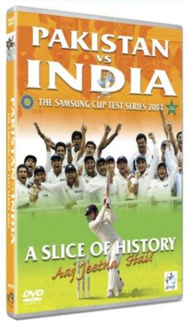 Pakistan Vs India The Samsung Cup Test Series 2004 [DVD] [NTSC] [UK Import] Samsung Cricket