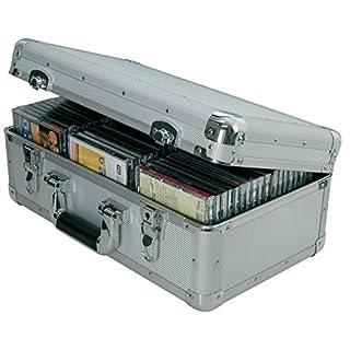 Aluminium CD Flight case   60 CDs