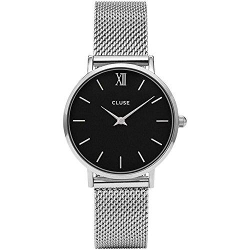 Cluse Damen Armbanduhr Analog Quarz Edelstahl CL30015