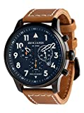 Quiksilver Seafire Leather - Analogue Watch for Men - Analoge Uhr - Männer