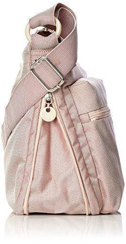 Mandarina Duck - Md20 Minuteria, Borsa a tracolla Donna Pink (Misty Rose)