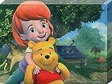 Winnie the Pooh Disney Darby und ihr Freund Pu Leinwanddruck