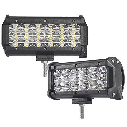 2 LED 54W 3 LED Barre A LED, Luci Da Lavoro Faro Auto Proiettori Faretti Esterni Impermeabile IP68 SUV Off Road Boat Driving Lighting, 12V 24V