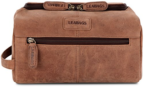 leabags-palm-beach-trousse-de-toilette-rtro-vintage-en-vritable-cuir-de-buffle-marron