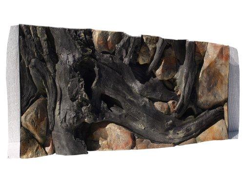 Aquarium Rückwand 3D Amazonas 100x40cm bei Robizoo (Hintergrund Streng)