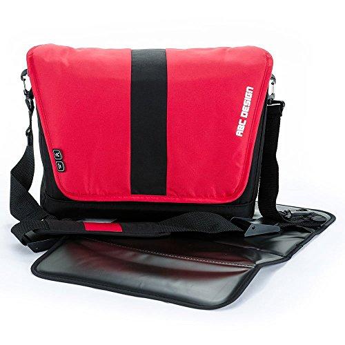 Preisvergleich Produktbild Asalvo–Handtasche Fashion Rot
