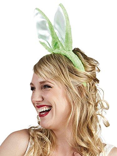 Karnevalsbud - Hasen Ohren Hut Haarreif Bunny 4Stk., (Kostüm Hut Schwarzes Schaf)