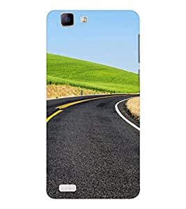 EPICCASE Road to Success Mobile Back Case Cover For Vivo X 3s (Designer Case)