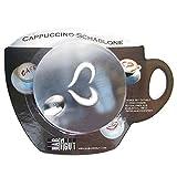 HAB & GUT -CS001-3x Cappuccino Schablonen aus Edelstahl,