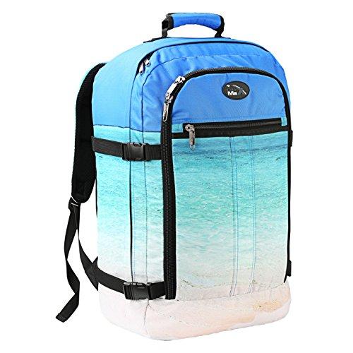 Cabin Max Metz Flugzugelassenes Backpack Groß leichtgewicht Handgepäckstück 55x40x20cm Ozean