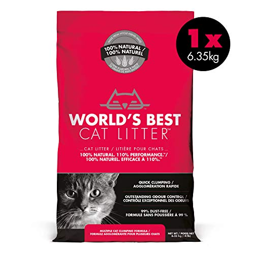 World's Best Cat Liter Katzenstreu, Multiple Cat, 6.35 kg