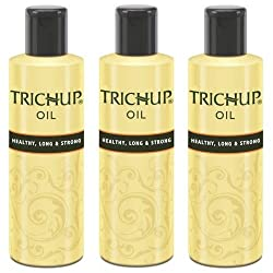Trichup Healthy Long and Strong Hair Oil 200 ml, (Pack of 3)