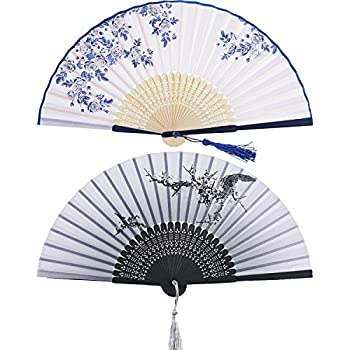 Women Chinese Style Hollow Wooden Folding Bamboo Carved Hand Fan Gift  ZH