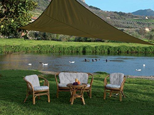 Luxurygarden set salotto con 2 poltrone 1 tavolino 1 divano in rattan arredo da esterno arredo da giardino arredamento
