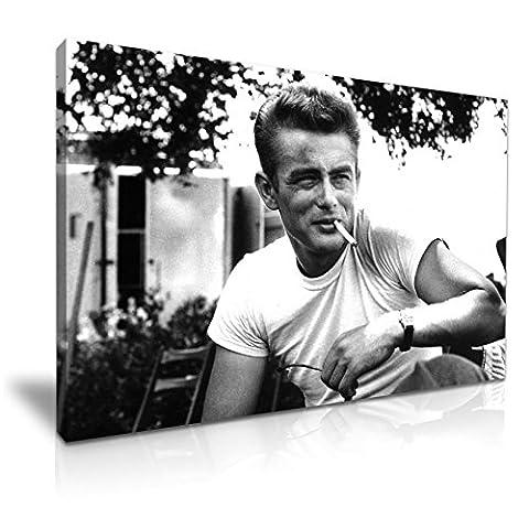 James Dean Icon Impression sur toile 76cm x 50cm